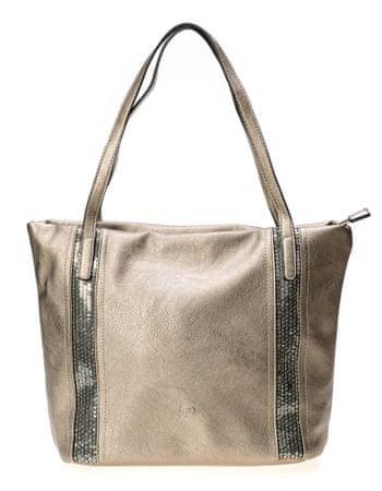 Tom Tailor ženska ročna torbica srebrna Lola