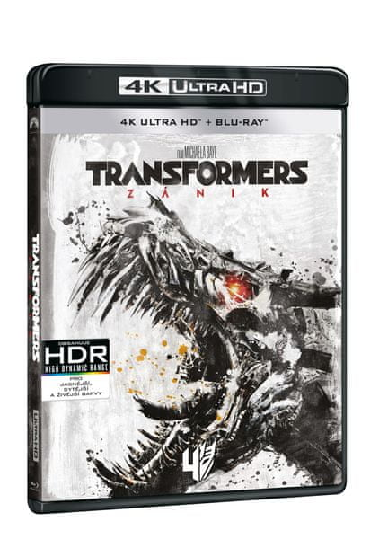 Transformers: Zánik (2 disky) - Blu-ray + 4K ULTRA HD