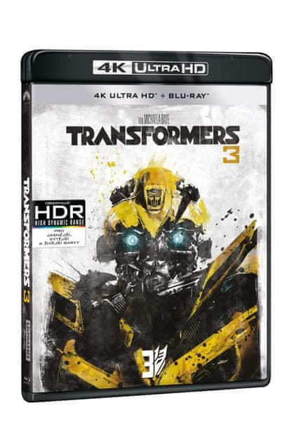 Transformers 3 (2 disky) - Blu-ray + 4K ULTRA HD