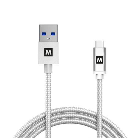 MAX Odolný propojovací datový kabel MUC4100W 1m, bílý