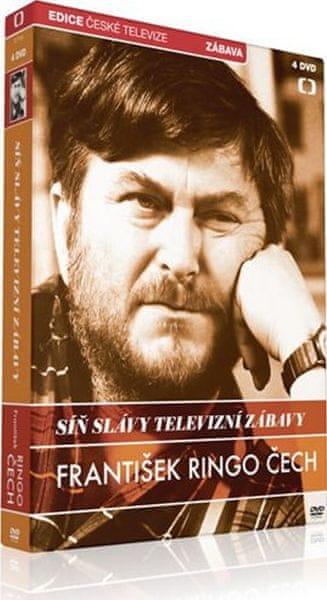 Síň slávy televizní zábavy: František Ringo Čech (4DVD) - DVD