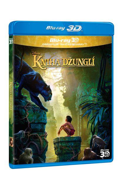 Kniha džunglí 3D+2D (2 disky) - Blu-ray