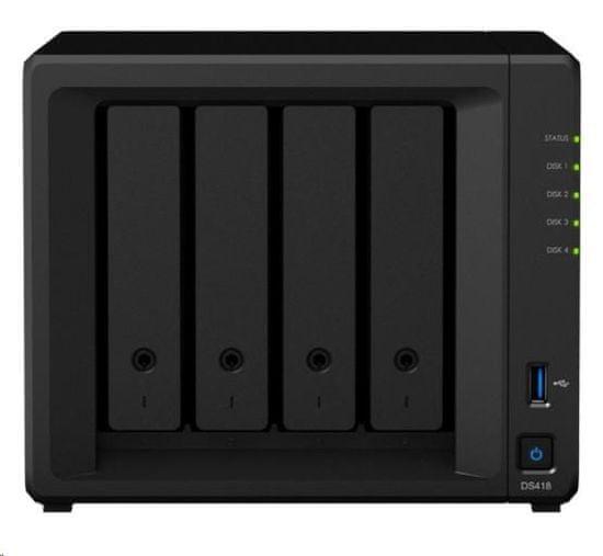Synology NAS strežnik DS418 za 4 diske