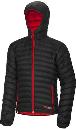 Ocun kurtka puchowa Tsunami men Black/Red XL