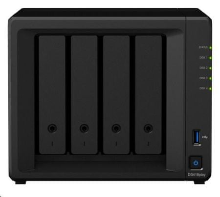 Synology NAS strežnik DS418 Play za 4 diske