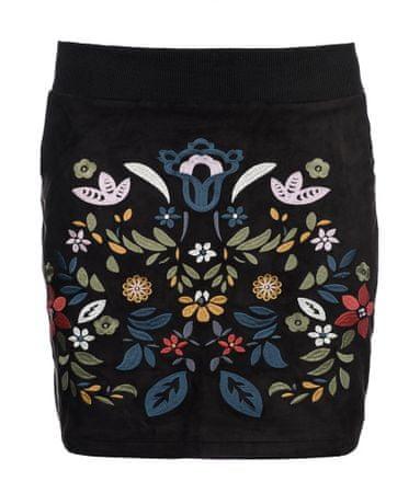 Desigual spódnica damska Ariadna 42 czarny