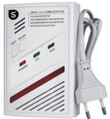 Smartwares Kombinovaný senzor – Plyn a CO - baterie 5 let (10.029.29)