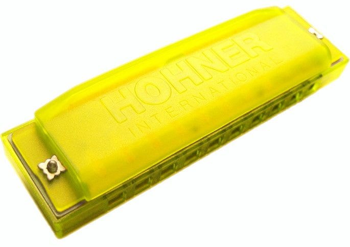 Hohner Happy Harp Yellow Foukací harmonika