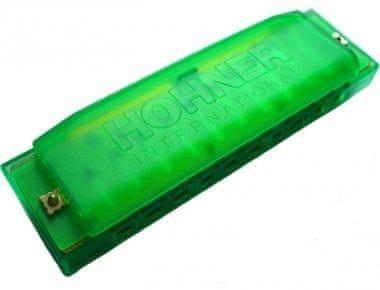 Hohner Happy Harp Green Foukací harmonika