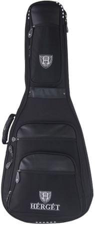 Herget Premier 100 DR/BK Obal na akustickú gitaru