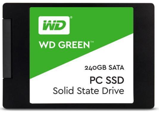 """Western Digital SSD disk Green SATA3 6,35 cm (2,5"""") 240 GB (WDS240G2G0A)"""