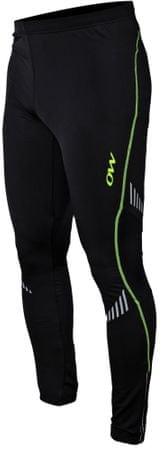 One Way moške športne hlače za smuko Shifter Brushed Training Lights Blacka, L, črne