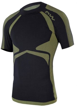 One Way koszulka męska Master Shirt Black/Yellow S-M