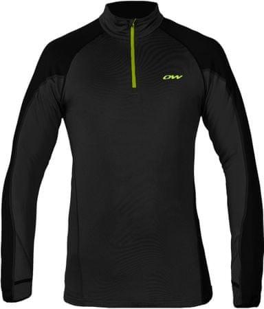 One Way moška športna majica Prime Sky Thermoknit Shirt Black, XL, črna