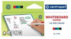 Centropen Značkovač 2709 na bílé tabule sada 4 barev