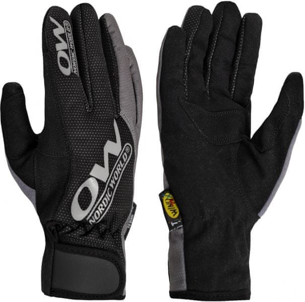 One Way Tobuk 7 Glove Black/Grey 5