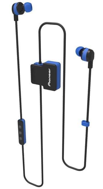 Pioneer SE-CL5BT-L bezdrátová sluchátka, modrá
