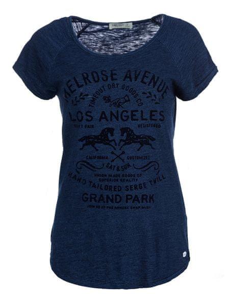 Timeout dámské tričko XL tmavě modrá