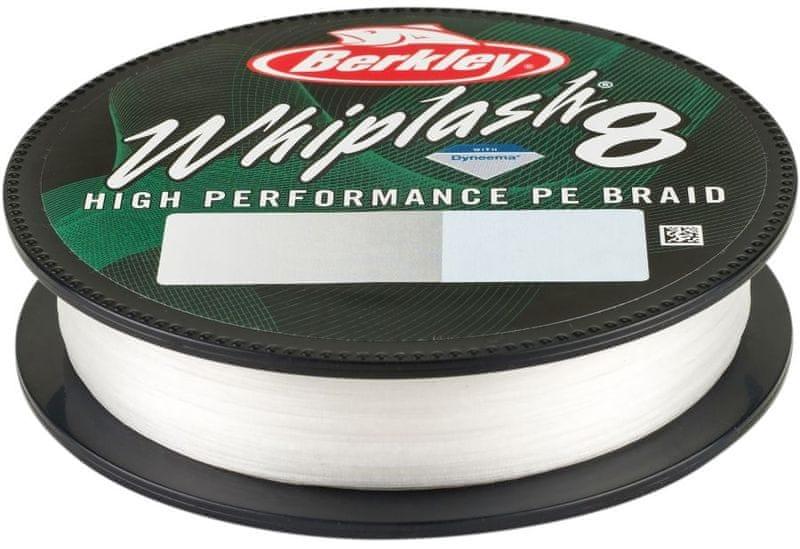 Berkley Splétaná Šňůra Whiplash 8 150 m Crystal 0,12 mm, 17,5 kg