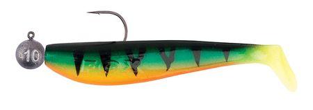 FOX RAGE Gumová Nástraha Loaded Zander Pro Shads Fire Tiger 4 ks 7 cm