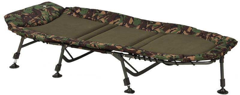 Giants Fishing Lehátko Bedchair Flat Fleece XL 7Leg Camo