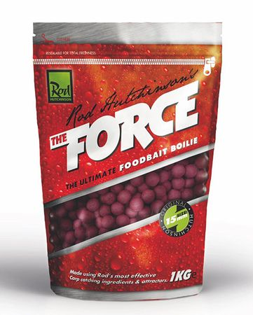 ROD HUTCHINSON Boilies The Force Food Bait 1 kg, 15 mm