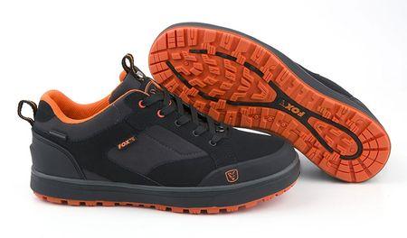Fox Boty Black Orange Shoe 10