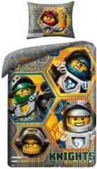 Halantex Obliečky Lego Nexo Knight bavlna 140x200 70x90