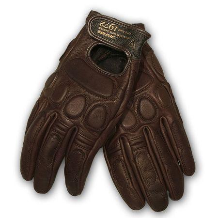Dainese moto rukavice  BLACKJACK UNISEX vel.L hnedá, kozej kože