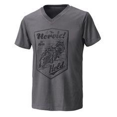 Held pánské triko  BE HEROIC šedá