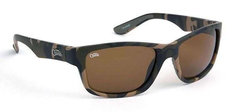 Fox Polarizační Brýle Chunk Sunglasses Camo/Brown