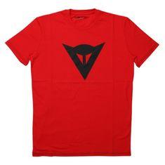 Dainese pánské triko s krátkým rukávem  SPEED DEMON červená/černá
