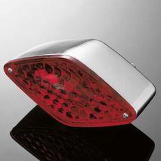 Highway-Hawk koncové světlo na motorku DIAMOND, chrom (1ks)