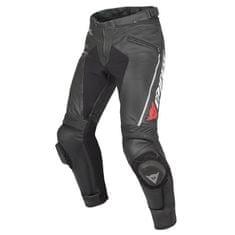 Dainese pánské kožené moto kalhoty  DELTA PRO C2 černá/černá
