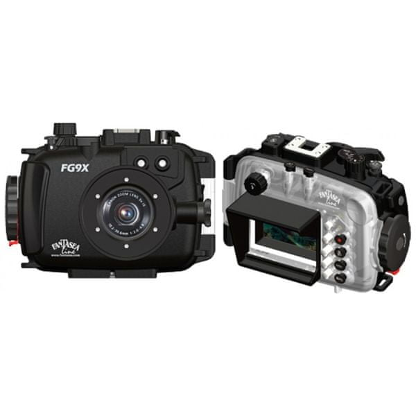FANTASEA Pouzdro podvodní FG9X pro digitální foťák Canon PowerShot G9 X