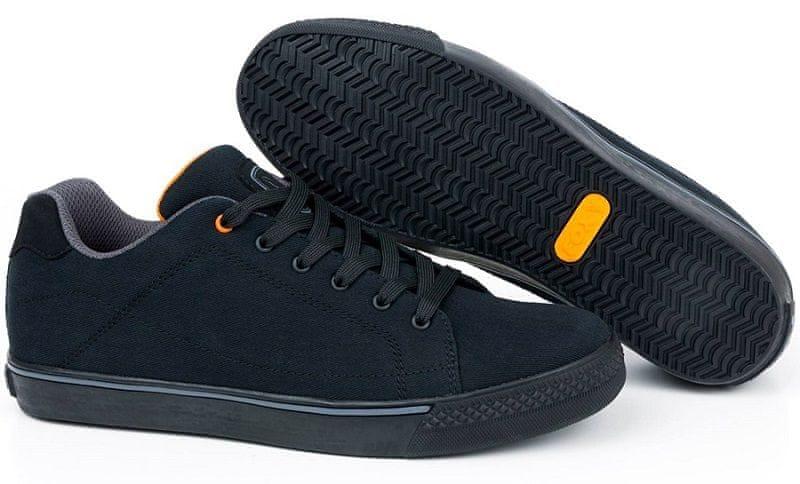 Fox Boty Black & Orange Casual Trainer 9