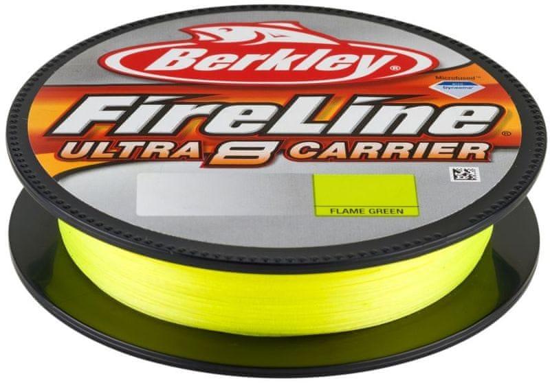 Berkley Šňůra Fireline Ultra 8 150 m Fluo Green 0,15 mm, 8,3 kg