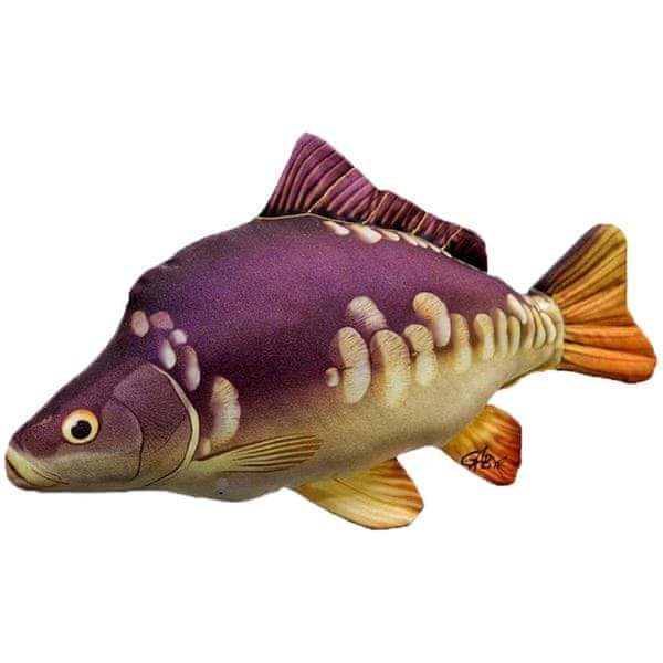 Gaby Plyšová Ryba Kapr Lysec Mini 36 cm