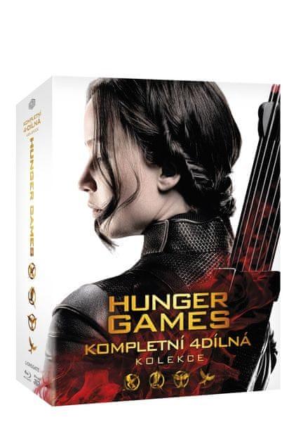 Hunger Games: Kompletní kolekce 1-4 (5BD) - Blu-ray