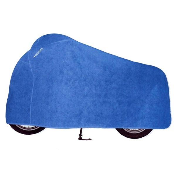 Held prodyšná krycí plachta na motocykl vel.L, modrá (textil)