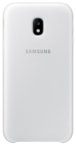 Samsung Dual Layer Cover J3 2017, white EF-PJ330CWEGWW