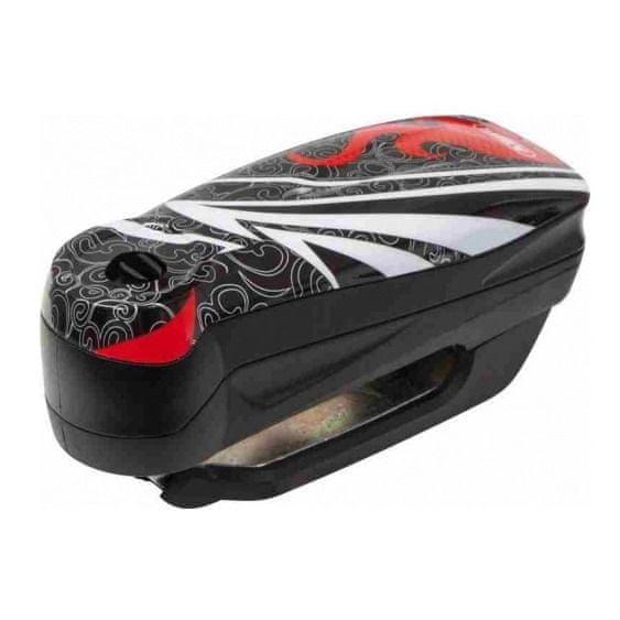 Abus zámek na kotoučovou brzdu s alarmem Detecto 7000 RS1, černý