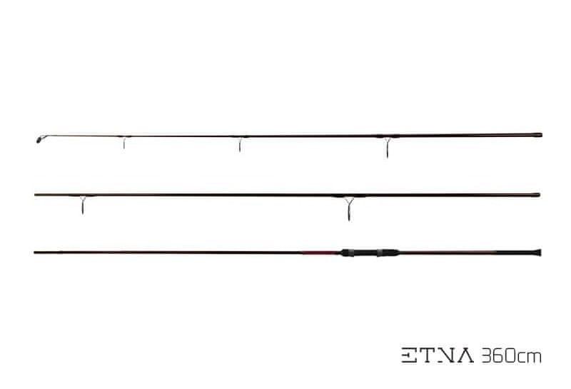 Delphin Prut Etna II Next Generation 3,66 m (12 ft) 2,75 lb Třídílný