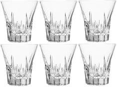 RCR kozarci za viski Crystal Fluente, 310 ml, 6 kos