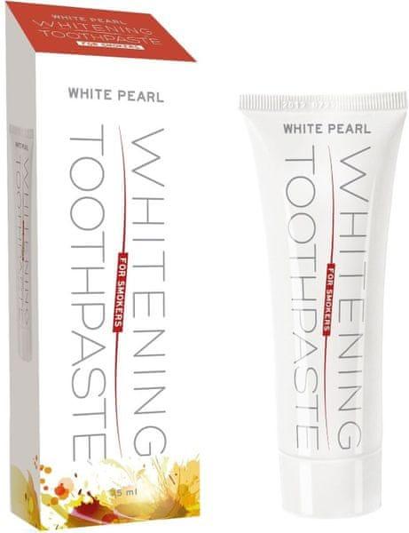 White Pearl Bělící pasta pro kuřáky 75 ml