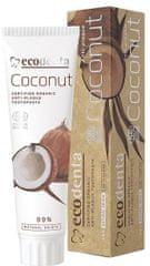 Ecodenta BIO zubní pasta proti zubnímu plaku s kokosovým olejem 100 ml