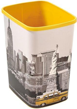 Curver Odpadkový koš Flipbin NEW YORK bez víka