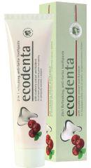 Ecodenta Osvěžující zubní pasta proti zubnímu kameni 2v1 s brusinkami a Kalidentem 100 ml
