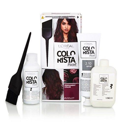 L'Oréal Permanentní barva na vlasy Colorista Paint (Odstín Marsala 5.15)