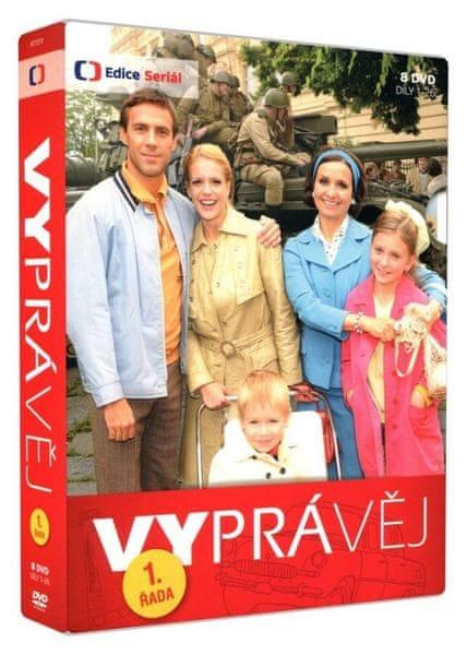 Vyprávěj - 1. řada (8 DVD) - DVD